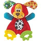 Playgro 0183155 - Mantita mordedor, diseño perrito Pooky