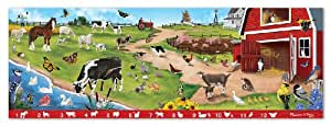 Melissa & Doug Search & Find Sunny Hill Farm Floor Puzzle 48-Count