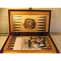 Chessebook - Backgammon 32 x 29 cm