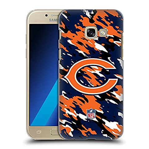 Official NFL Camou Chicago Bears Logo Hard Back Case for Samsung Galaxy A3 (2017)