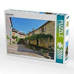CALVENDO Puzzle Sainte-Enimie 2000 Teile Lege-Größe 90 x 67 cm Foto-Puzzle Bild von Sabine Löwer