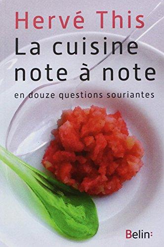 La cuisine note à note