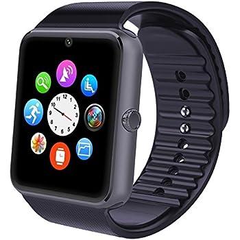Montre Connectée,Willful Bluetooth Smartwatch Montre Sport Carte Sim de Soutien et Carte de TF