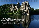 Die Externsteine (Tischkalender 2019 DIN A5 quer): Mystische Stätte im Teutoburger Wald (Monatskalender, 14 Seiten ) (CALVENDO Natur) - Martina Berg