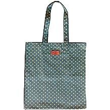 Cath Kidston - Bolso de tela de algodón para mujer Azul Soft Teal Talla única
