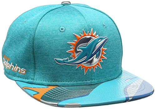 New Era Herren Baseball Cap Nfl 2017 Official On Stage 9fifty Miami Dolphins