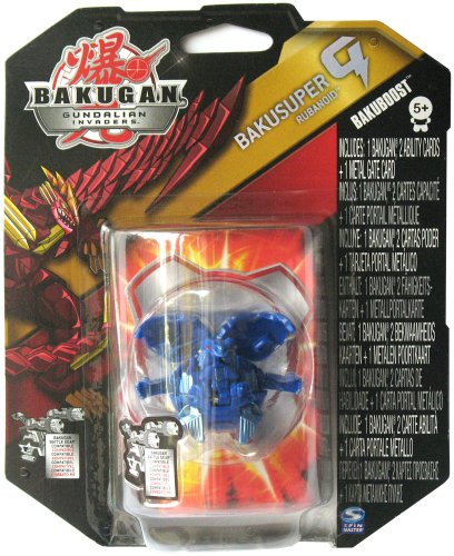 Bakugan Gundalian Invaders BakuBoost - BakuSuper G - Aquos RUBANOID (Blue)
