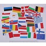 Everflag Europa-Set Aufkleber 6x4cm