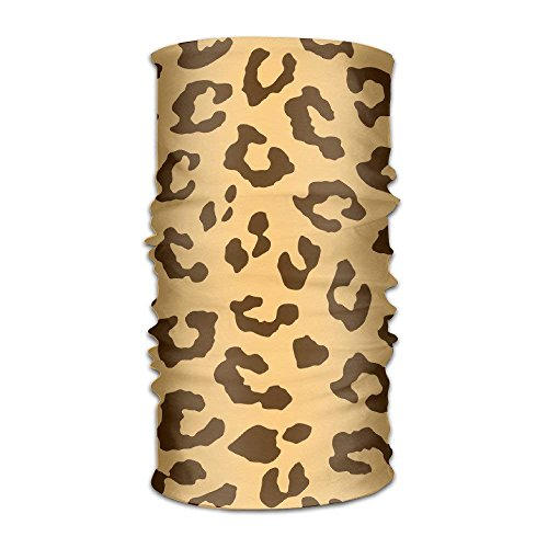 Qinckon Men&Women Leopard Cheetah Tiger Pattern Headwear Bandanas Headscarf Tube Scarf Facemask Headbands Neck Gaiter Bandana Balaclava Helmet for Outdoor Running - Royal Dancer Kostüm