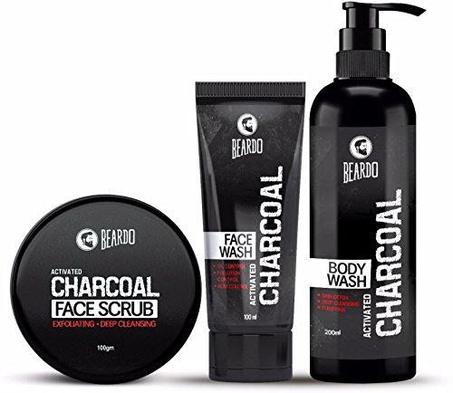 BEARDO Activated Charcoal Combo (Charcoal_combo)