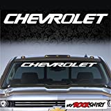 Chevrolet 90 cm Aufkleber Aufkleber Autoaufkleber Auto Tuning Sticker Aufkleber mit Montage Set inkl.