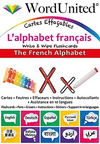 The French Alphabet: Write & Wipe Flashcards
