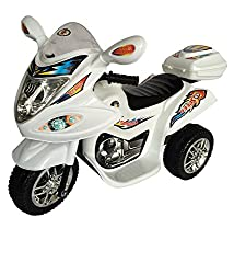 HLX-NMC BATTERY OPERATED FUN BIKE WHITE