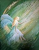 silwi-art***** Engelbilder, Engelkarte xl, Schutzengelbild, Kunstfoto Dein Engel erfüllt Deine Hoffnung Engelkarte xl limitiert Engel Angel