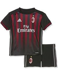 the best attitude 9eaf6 12873 adidas Milan AC Bébé Garçon Minikit Football Noir