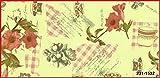 Tischdecke Blumen Tisch, 110cm x 140cm DC Fix abwischbar Küche Displayschutzfolie 231–1532