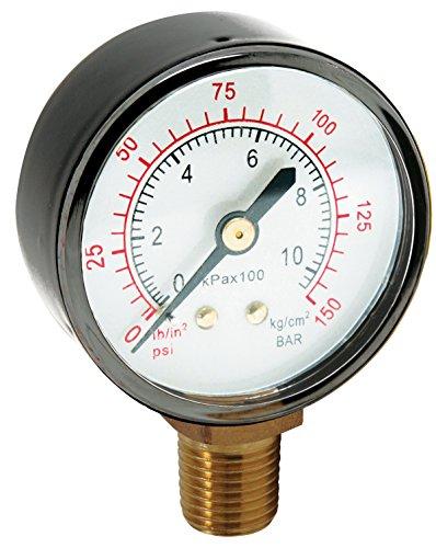 Hot Max 280682Ersatz Air Manometer mit 1/4-Zoll NPT, unten Halterung (Mount Bottom Npt)