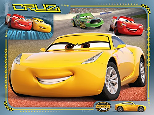 Image of Ravensburger 6894 Disney Pixar Cars 3 4 in a box Jigsaw Puzzles - 12, 16, 20 and 24 Pieces