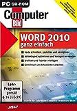 Produkt-Bild: ComputerBild Word 2010 (CD-ROM)