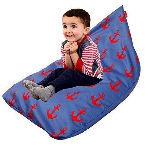 Anker Designer Waschmaschinenfestes Kinder Sitzkissen Sitzsack