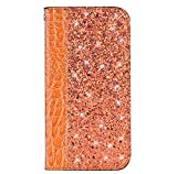 Huawei P20 Pro Case, Bling Glitter PU Leather Wallet Phone
