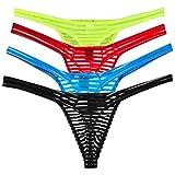 CSMARTE Homme Sexy String Ficelle T Retour Thong sous-vêtements
