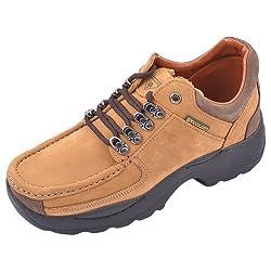 Woodland Mens Camel Nubuck Leather Boots - 7 UK/India (41 EU)