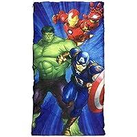 KidPlay Products Marvel Avengers - Saco de Dormir para niños, ...