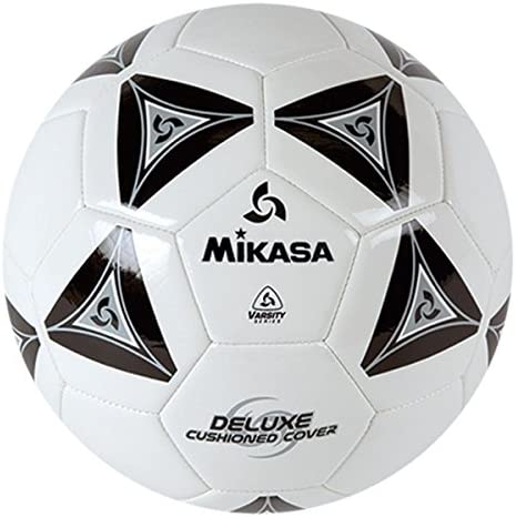 Mikasa Deluxe Soccer Football 2 Ply Butyl Bladderl Ball Size 5 White With Black | Réputation D'abord