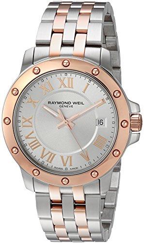 Raymond Weil Homme Analogique Quartz Suisse Montre avec Bracelet en Acier Inoxydable 5599-SB5-00658
