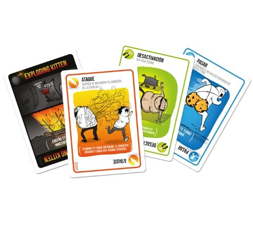 Exploding Kittens - Juego de cartas (EKEK0001)