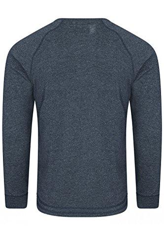 Tokyo Laundry Herren Langarmshirt rot rot Small dunkles marineblau