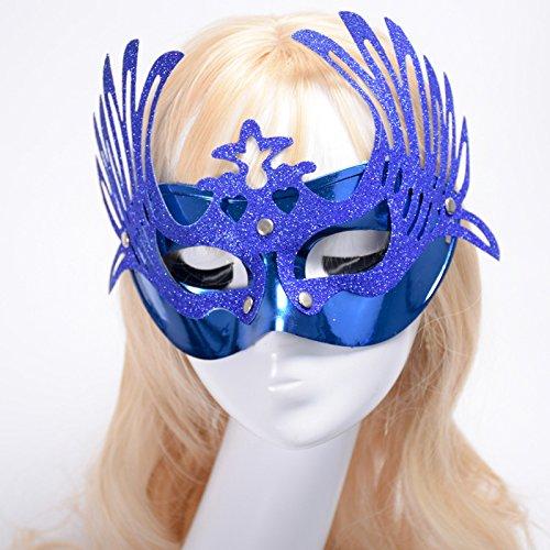 Driverder Kreative Sexy Maskerade Halloween Gold Maske ()