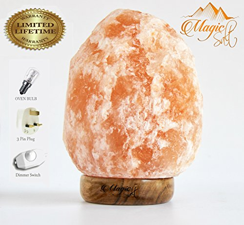 Authentic salt lamp. Gorgeous.