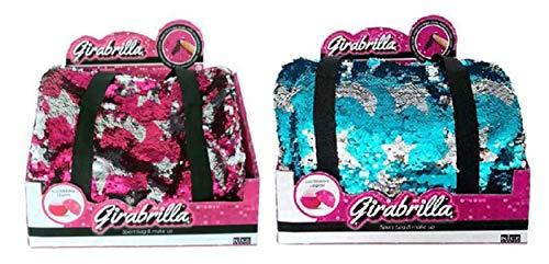 Nice- Girabrilla-Sport Bag e Make Up, Multicolore, 2532