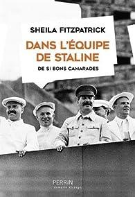 Dans l'équipe de Staline par Sheila Fitzpatrick