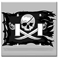 Art Plates Brand Switch / Wall Plate - Pirate Flag
