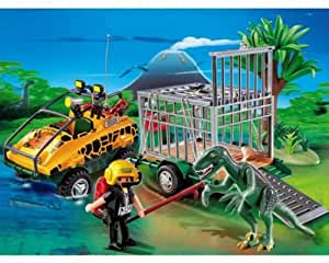 playmobil 4175 v hicule amphibie deinonychus jeux et jouets. Black Bedroom Furniture Sets. Home Design Ideas