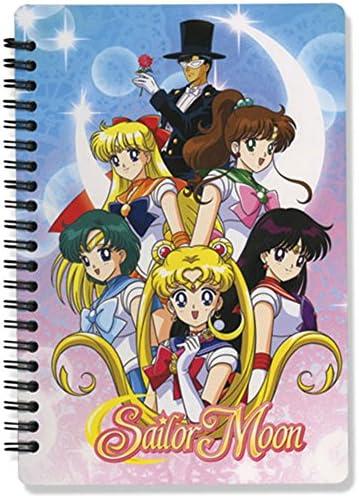 Carnaval du Nouvel An Sailormoon Girls Group cahier | Le Roi De La Quantité