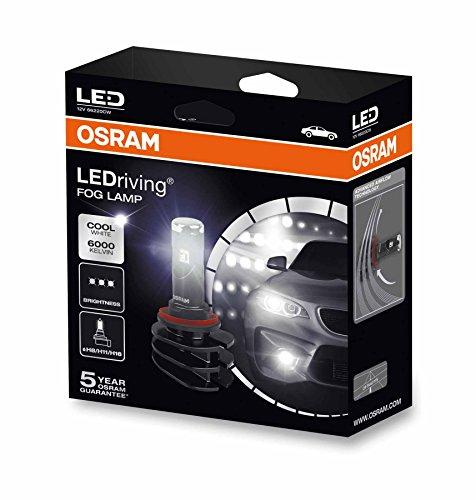 Preisvergleich Produktbild OSRAM LEDriving Fog Lamp H8/H11/H16, LED-Nebellicht, 66220CW, Offroad-only, 12V, Faltschachtel (2 Stück)