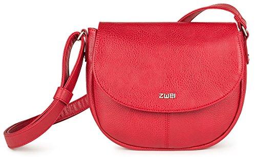 zwei Mademoiselle M7 Umhängetasche 26 cm Red