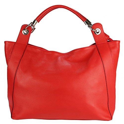 Olivia, Borsa Tote Da Donna Blu Navy Blu Rossa
