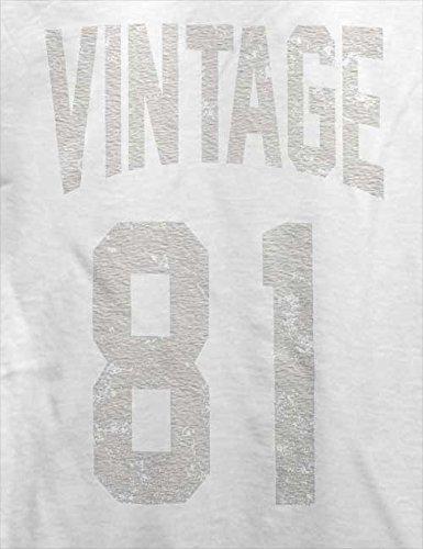 Vintage 1981 T-Shirt Weiß