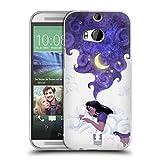 Head Case Designs Unter Dem Mondlicht Schlafen Traum Wolke Soft Gel Hülle für HTC One M8 / M8 Dual SIM