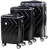 Scratch-Resistant 3pcs Hard Shell, Lightweight 3 Piece Suitcase Set | 3 Digit TSA