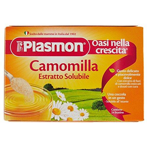 Plasmon - oasi nella crescita, camomilla, estratto solubile, 24 bustine - 120 g