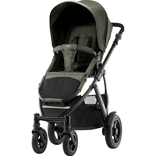 Britax Smile 2 Kinderwagen, Kollektion 2018, olive denim