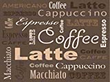 Wee Blue Coo Prints 12 X 16 INCH/30 X 40 CMS COFFEE CAPPUCCINO LATTE ESPRESSO PHOTO FINE ART PRINT POSTER HOME DECOR PICTURE Kaffee FOTO Kunstdruck Zuhause Deko Bild