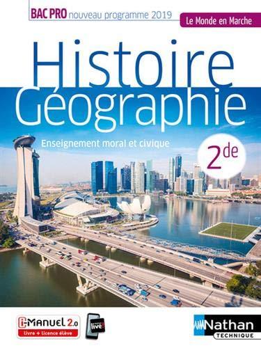 Histoire-Géographie - EMC - 2de Bac Pro