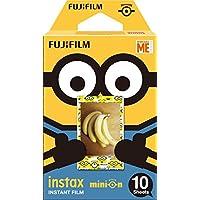 Fujifilm Instax Mini Minions Pellicola Istantanea, 10 Pose, Bianco
